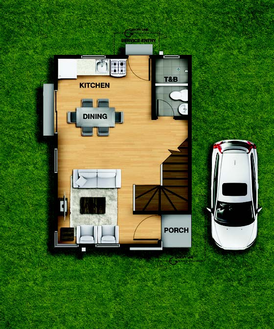 Macy Ground Floorplan