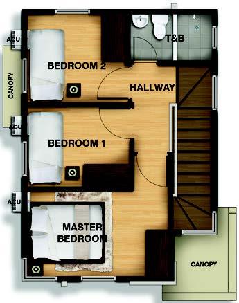 Macy Second Floorplan
