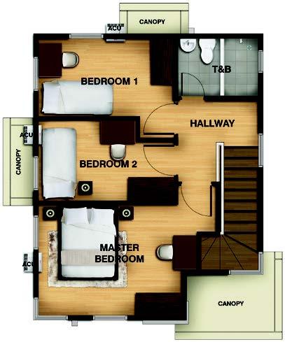 Trista Second Floorplan